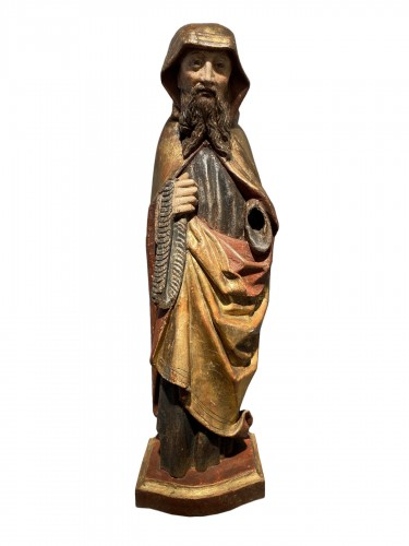 Monk with cilice belt (Germany, 16th)