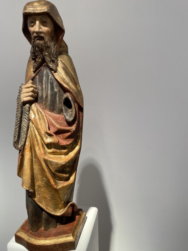 Monk with cilice belt (Germany, 16th) -