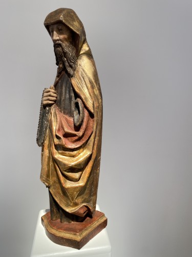 <= 16th century - Monk with cilice belt (Germany, 16th)