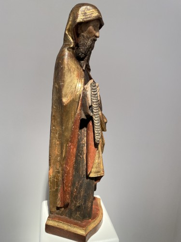 Antiquités - Monk with cilice belt (Germany, 16th)