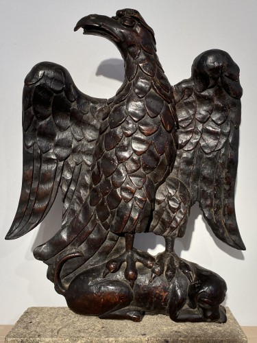 Sculpture  - Eagle and Dog (France, 16th)