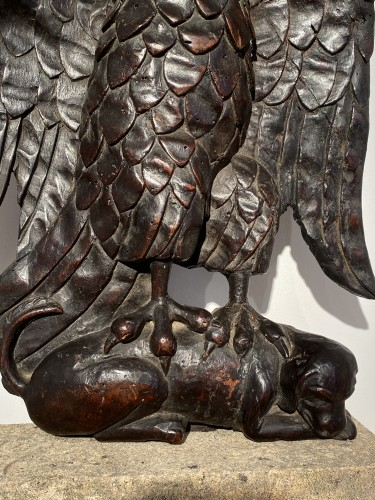 <= 16th century - Eagle and Dog (France, 16th)