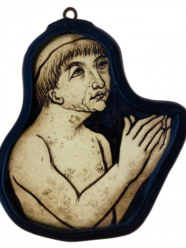 Praying Monk, France 14th century