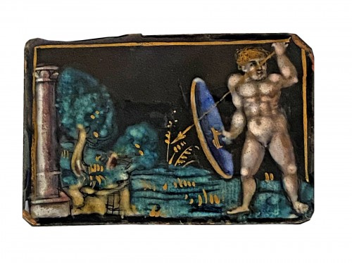 Naked Warrior (Limoges, 16th)