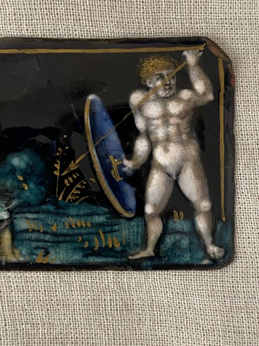 Naked Warrior (Limoges, 16th) - Objects of Vertu Style Renaissance