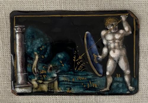 Naked Warrior (Limoges, 16th) -