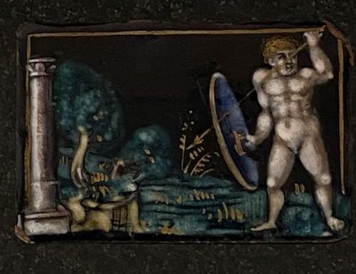 Naked Warrior (Limoges, 16th) - Renaissance