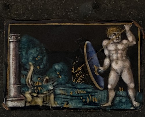 Renaissance - Naked Warrior (Limoges, 16th)