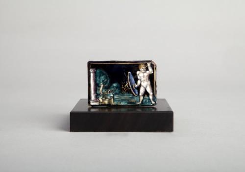 Antiquités - Naked Warrior (Limoges, 16th)