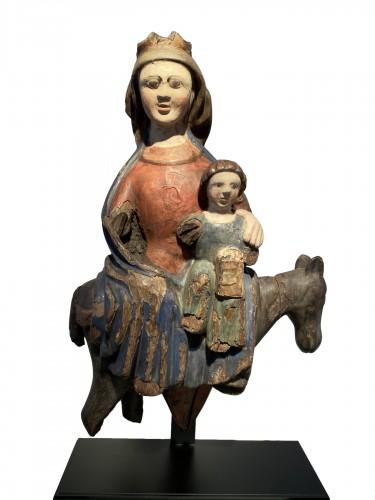 The Flight into Egypt, Spain 15th century