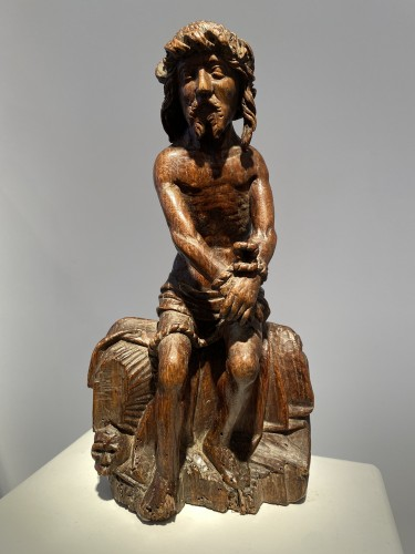 Christ on the Cold Stone (Flanders, ca 1500) -
