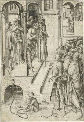 Renaissance - Ecce Homo - Flemish School, of the 15th century