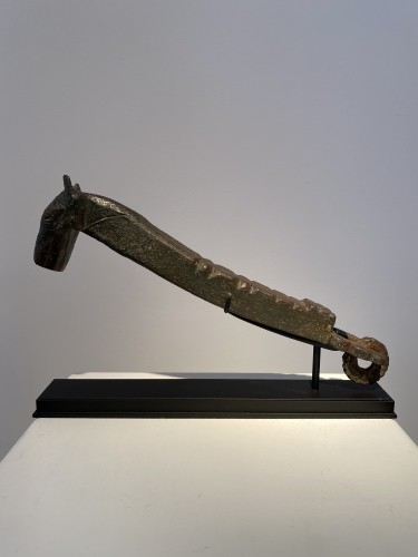 Antiquités - Horsehead Doorknocker (Spain, 15th)