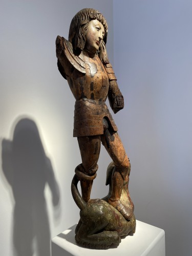 St. George and the Dragon, Germany circa  1500 - Renaissance