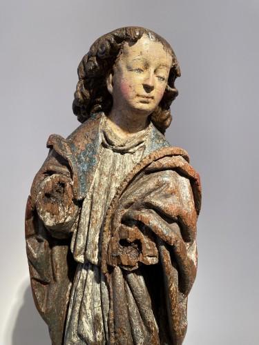 Angel, Flanders 16th century - Sculpture Style Renaissance