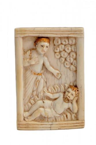 Ivory plaque - Hispano-Philippine, 17th century