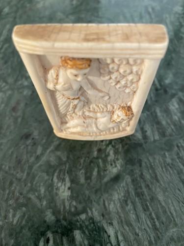 Ivory plaque - Hispano-Philippine, 17th century - Renaissance