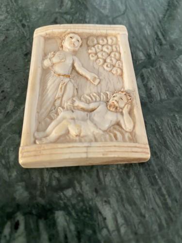 Renaissance - Ivory plaque - Hispano-Philippine, 17th century