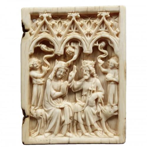 Coronation of the Virgin (France, 14th)