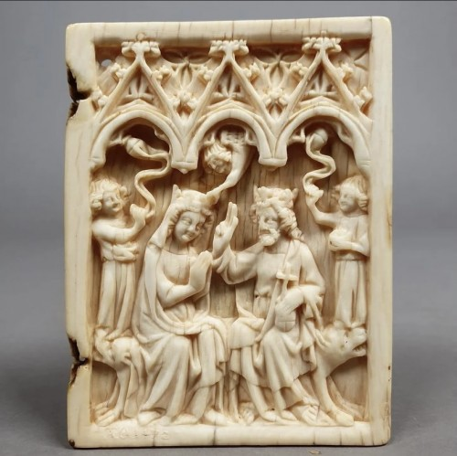 Coronation of the Virgin (France, 14th) -