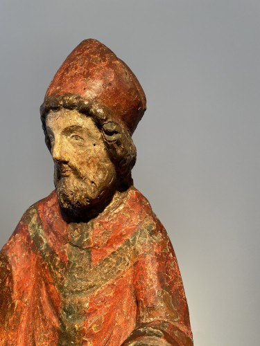 Bishop, France 14th century - Middle age