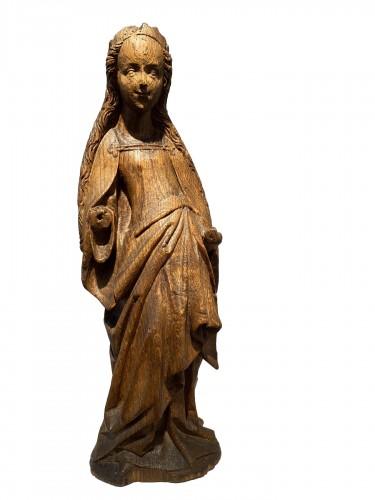 Smiling Virgin (Brabant, 15th)