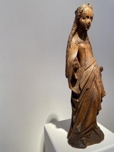 Smiling Virgin (Brabant, 15th) -