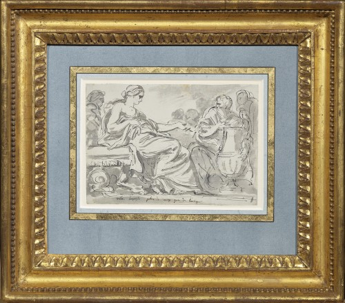 Augustin Pajou (Paris 1730 -1809)  Study in the antique style