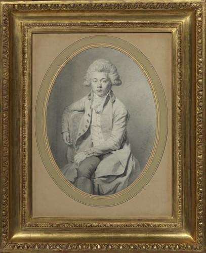 Jean-Urbain Guérin (1760 - 1836) Portrait of the Vicomte de Ségur