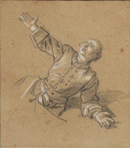Jean-Marc Nattier (1685 - 1766) - Soldier asking for mercy