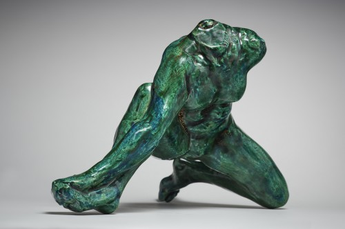 Iris Messenger of the Gods after Auguste Rodin (1840-1917) by Jean Mayodon - Sculpture Style 50