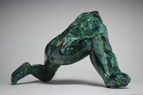 Sculpture  - Iris Messenger of the Gods after Auguste Rodin (1840-1917) by Jean Mayodon