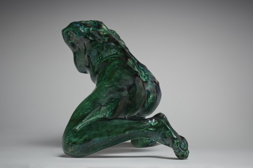 20th century - Iris Messenger of the Gods after Auguste Rodin (1840-1917) by Jean Mayodon