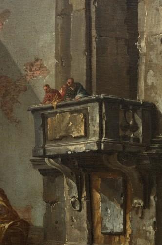 18th century - Architectural capriccio by Jean-Nicholas Servandoni (1695-1766)