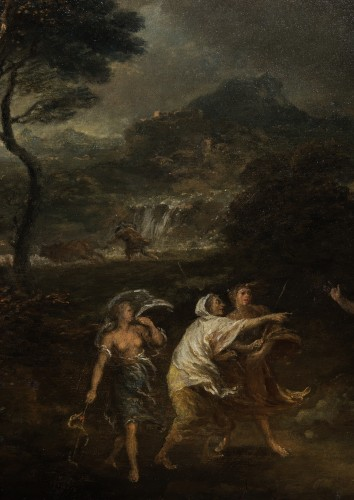 Macbeth and the three witches - Francesco Zuccarelli (1702 - 1788) -