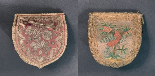 Two embroidered pouches - Objects of Vertu Style