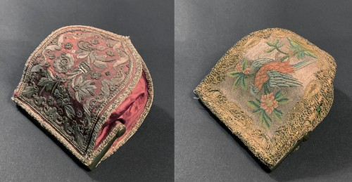 Objects of Vertu  - Two embroidered pouches