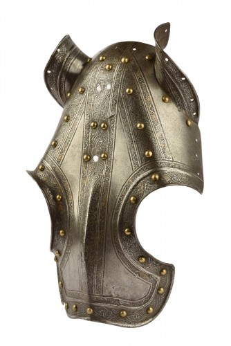 A Short shaffron, called half-shaffron - Milan, circa 1570-1580