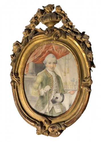 A portrait of a gentleman, d'Anthès family, Alsace, circa 1760