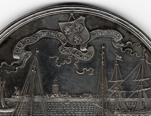 Collectibles  - Medal commemorating the recovery of the sunken treasure ship by Treileben