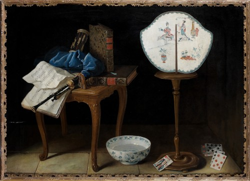 A Trompe l'œil still life - Henri-Horace Roland De La Porte (1725-1793)