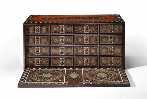 Furniture  - A Indo-Portuguese cabinet, late 16th century