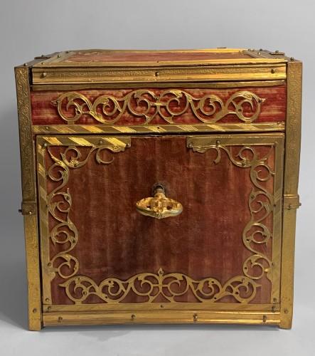 A travelling cabinet - Workshop of Wenzel Jamnitzer, Nuremberg, circa 1580 - Curiosities Style Renaissance