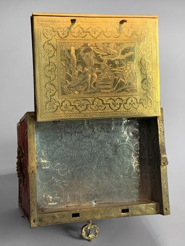 Curiosities  - A travelling cabinet - Workshop of Wenzel Jamnitzer, Nuremberg, circa 1580