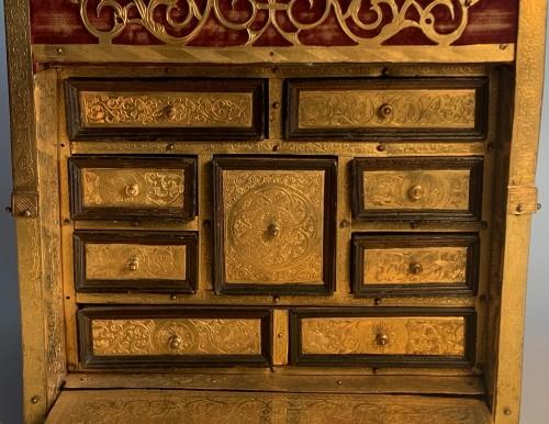 A travelling cabinet - Workshop of Wenzel Jamnitzer, Nuremberg, circa 1580 -