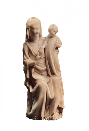 Madonna and Child - France, circa 1350