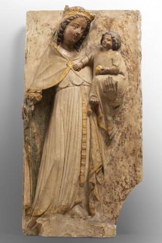 Virgin and Child - Jaume Cascalls - Catalonia, mid-14th century - Middle age