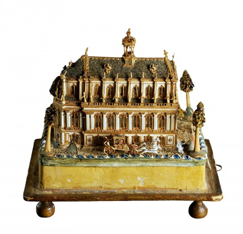 Model of the Royal Chapel in Versailles