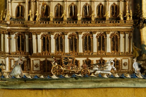 Model of the Royal Chapel in Versailles - Curiosities Style