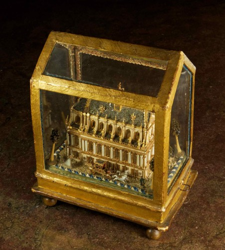 Model of the Royal Chapel in Versailles -